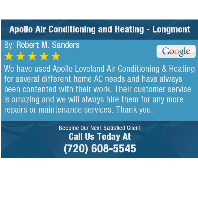 We Have Used Apollo Loveland Air Conditi With Images Heating