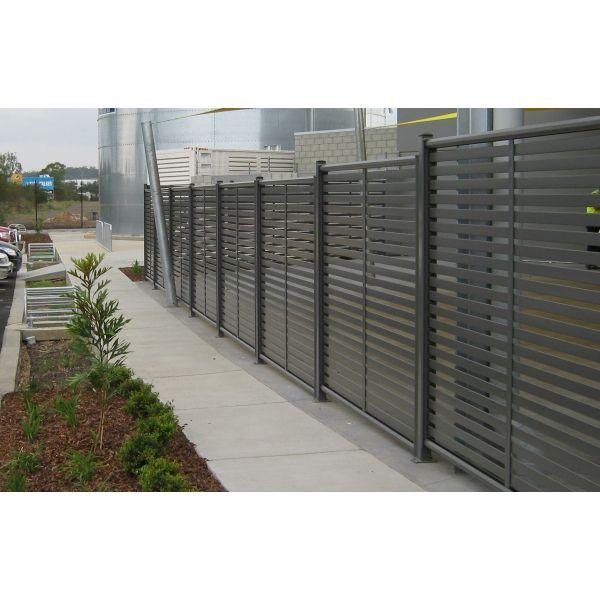 Aluminum Slated Fence Clik N Fit 174 Colorbond 174 Slat Panel