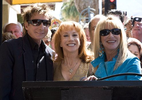 Barry Manilow, Kathy Griffin and Suzanne Somers.