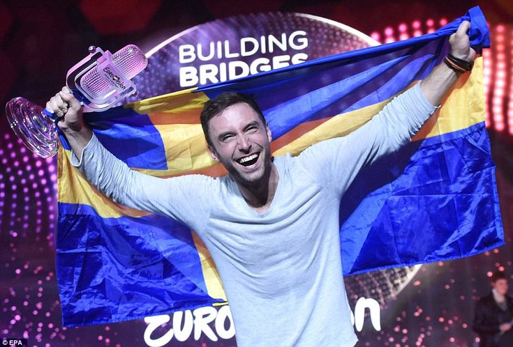 Mans Zelmerlow secured Sweden it's sixth win in Eurovision history. Sweden won most recently in 2012 with Euphoria by Loreen and now gets to host the contest again next year. CONGRATULATIONS SWEDEN!!!