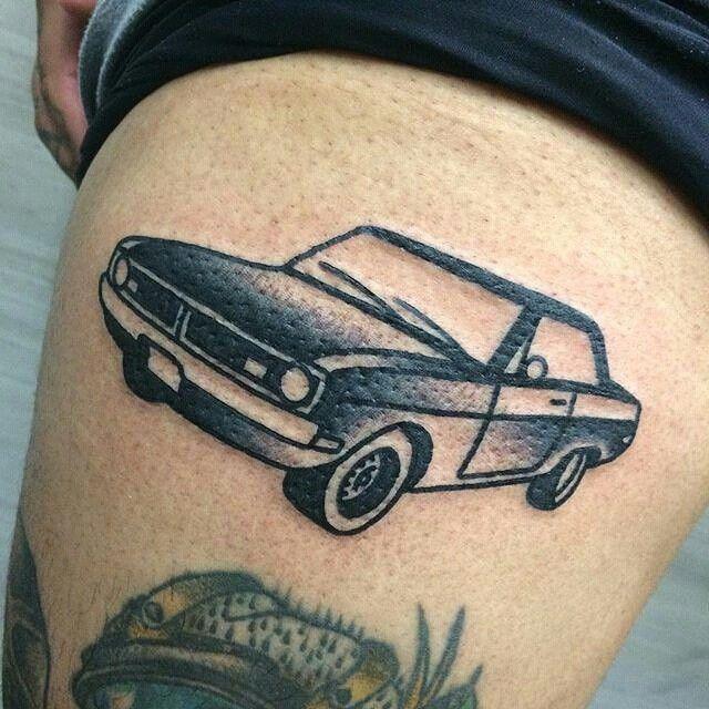 car tattoos designs and ideas classic car sleeve tattoo idea pinterest. Black Bedroom Furniture Sets. Home Design Ideas