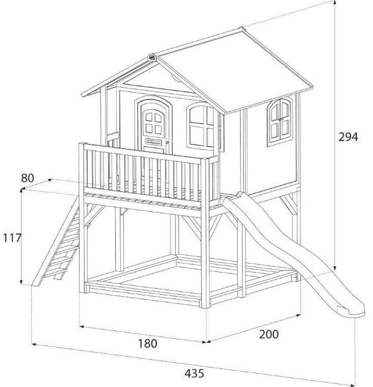 Les 25 meilleures id es concernant plan cabane sur for Plan de maison pour enfant