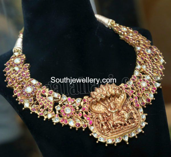 Ruby Temple Necklace photo