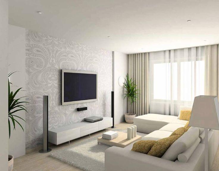 Decoracion de salas modernas para espacios pequeos. Las salas pequeas de  pocos metros cuadrados ahora son muy comunes, pero el poco espacio no tiene  que ...