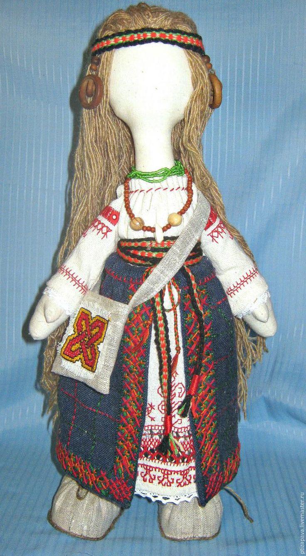 Шьем русский костюм для куклы. Часть 2 - Ярмарка Мастеров - ручная работа, handmade