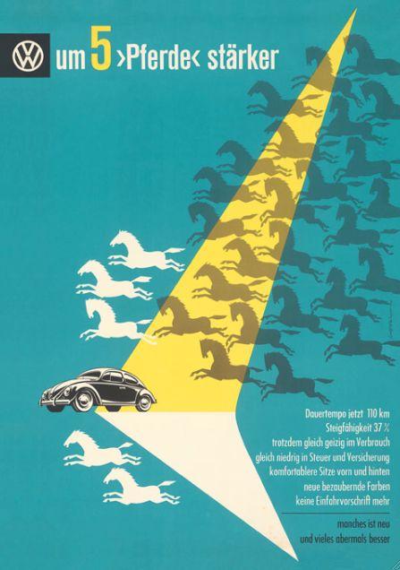 Volkswagen, 1954 Design by Hans Lohrer