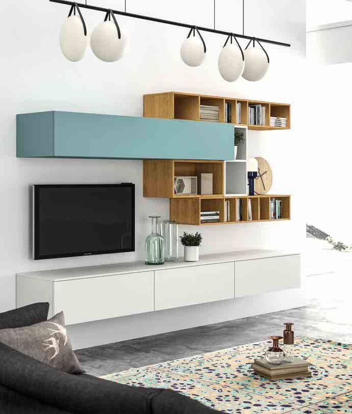 Download the catalogue and request prices of Slim 100 By dall'agnese, sectional storage wall design Imago Design, slim Collection
