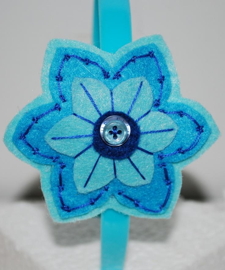 Flor para cintillo