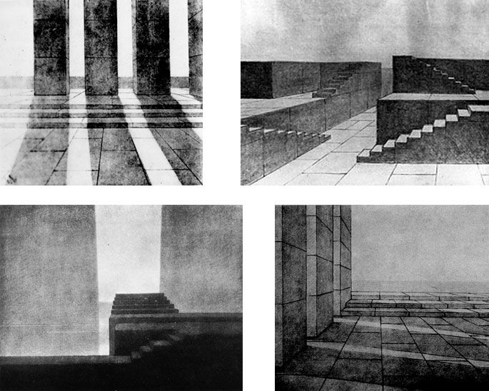 Set Ideas A Revolution in Stage Design: Drawings and Productions of Adolphe Appia