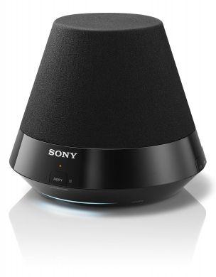Sony Głośniki bezprzewodowe - SA-NS310 - System głośnikowy zpełnozakresowym głośnikiem niskotonowym 50mm, wbudowaną siecią Wi-Fi®, technologią AirPlay isystemem emisji dźwięku we wszystkich kierunkach (360°). http://www.sony.pl/product/glosniki-bezprzewodowe/sa-ns310