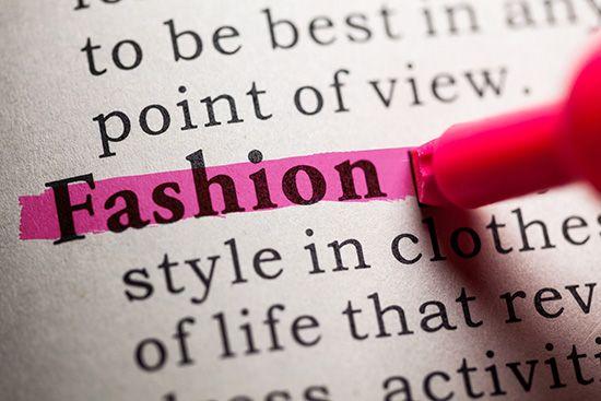Términos de la moda que se dicen en francés