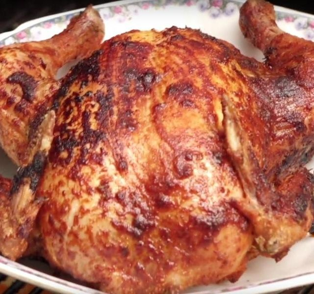 Grilované kuře video recept