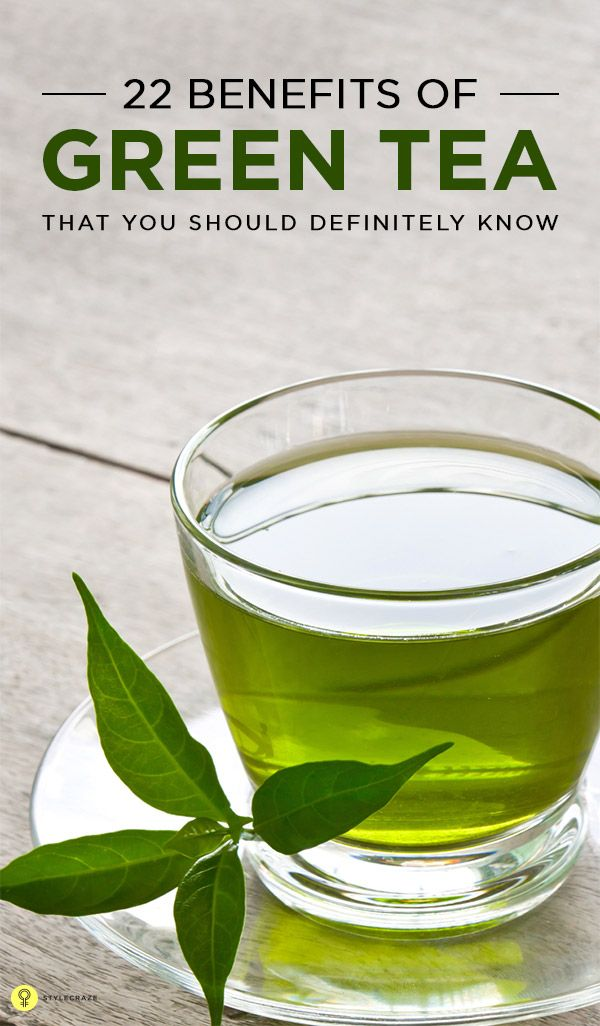 Green tea is known to be a healthier substitute to normal beverages like coffee and other types of tea, owing to its lower caffeine content.