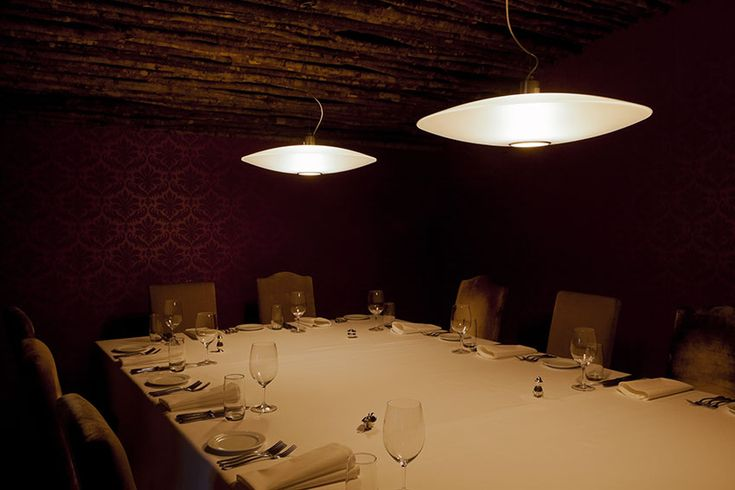 #Extra suspension lamps, design by #Prandina, at the Vinnies Restaurant in New Zealand  www.prandina.it