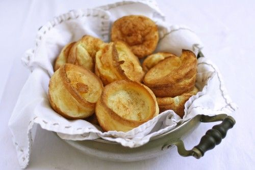 The humble Yorkshire pudding, so light, so fluffy, so tasty! They traditionally accompany roast dinners - don't forget to try them with gravy.