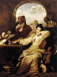 Sir David Wilkie -Josephine and the Fortune-Teller (1837)- Wikipedia, the free encyclopedia
