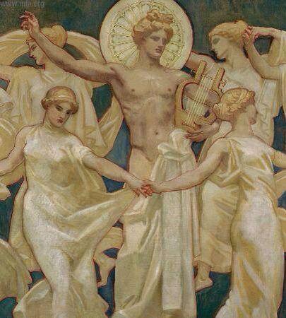 Apollo e le Muse