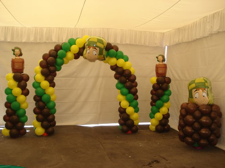 chavo del ocho party ideas on Pinterest | Parties Decorations ...