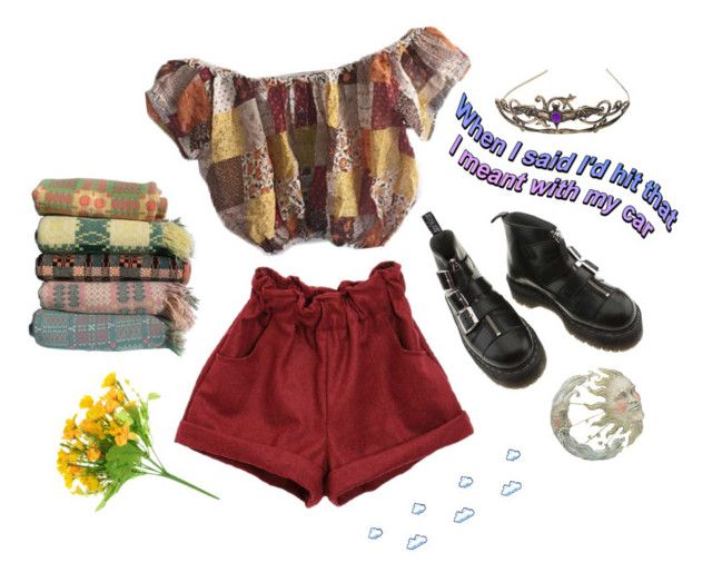 """""""vanilla + other things"""" by ode-to-sleeep ❤ liked on Polyvore featuring Dr. Martens and vintage"""