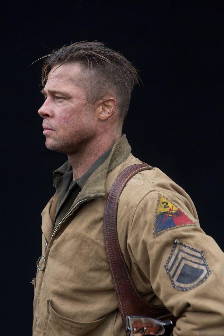 Wardaddy Brad Pitt Hair Brad Pitt Fury Haircut Brad