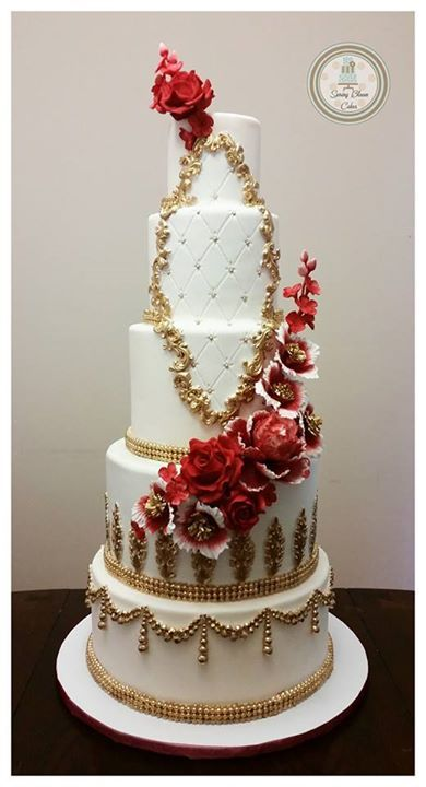Love the designs #weddingcake repinned by wedding accessories and gifts specialists http://destinationweddingboutique.com
