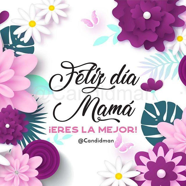 Feliz Dia Mama Eres La Mejor Candidman Candidmanmx