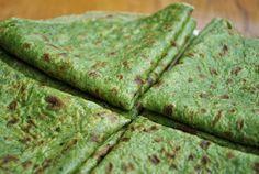 Wraps de espinaca sin harina | Notas | La Bioguía