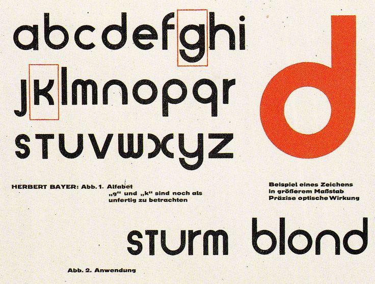 «Herbert Bayer (1900-1985) débute comme apprenti dans un cabinet d'architecture et de graphisme, à Linz, puis à Darmstadt en Allemagne. En 1921, séduit par les théories de Walter Gropius et …