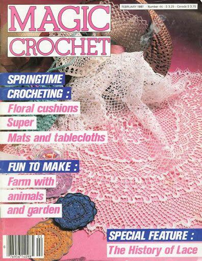 Magic Crochet n° 46 - leila tkd - Álbuns da web do Picasa
