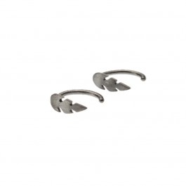 Øreringe: Petit Feather SR. Stine A Jewelry. 400 kr.