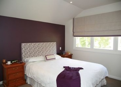 1000 images about home decor inspiration on pinterest for Grey feature wallpaper bedroom