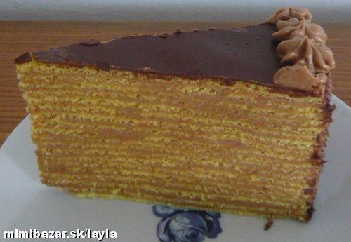 Dobosova torta od starkej o