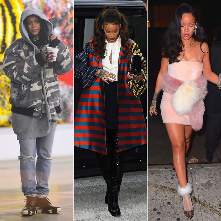 Rihanna best candid outfits of 2015