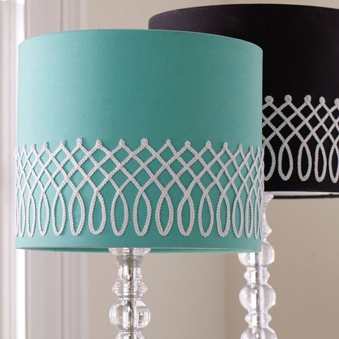 "Braided Shade | PBteen- in ""pool"" to go on the Parson's desk"