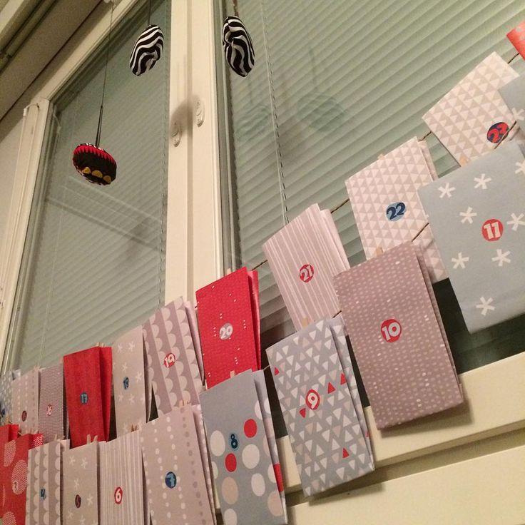 Tonttuhommat tehty. #diy #pikkukakkonen #joulukalenteri