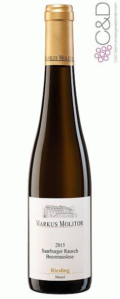 Folgen Sie diesem Link für mehr Details über den Wein: http://www.c-und-d.de/Mosel-Saar-Ruwer/Riesling-Beerenauslese-Saarburger-Rausch-2015-Weingut-Markus-Molitor-0375L_74310.html?utm_source=74310&utm_medium=Link&utm_campaign=Pinterest&actid=453&refid=43 | #wine #whitewine #wein #weisswein #moselsaarruwer #deutschland #74310