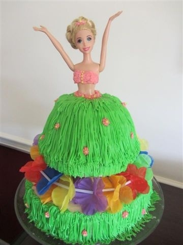 Hawaiian Birthday Cake Images