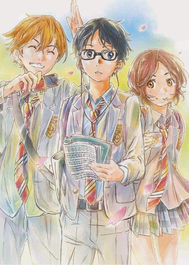 Your Lie in April / Shigatsu wa Kimi no Uso (四月は君の嘘) in