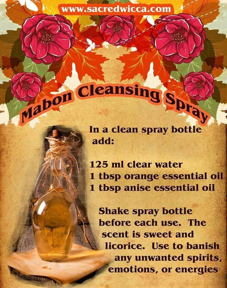 Mabon cleansing spray