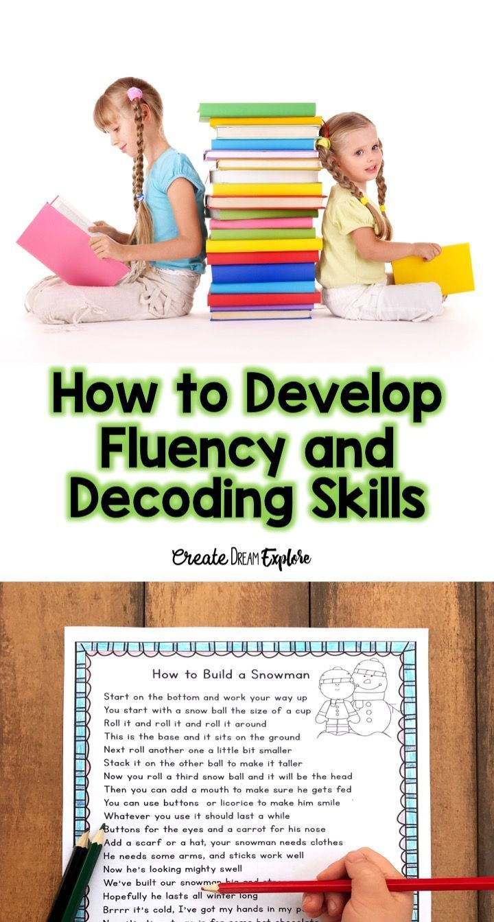 how to develop fluency and decoding skills with poetry and shared reading! Use a poem of the week strategy!