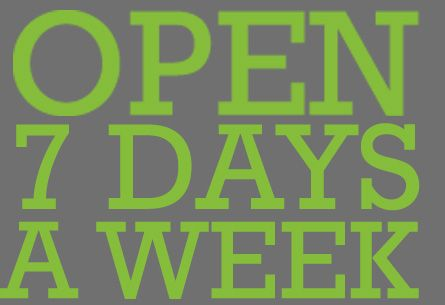 Our Hinckley and Enderby shops are now open 7 days a week!