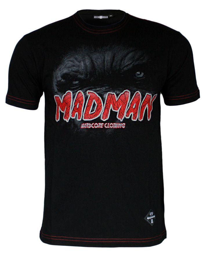 Koszulka 'Gorilla' - przód ---> Streetwear shop: odzież uliczna, kibicowska i patriotyczna / Przepnij Pina!