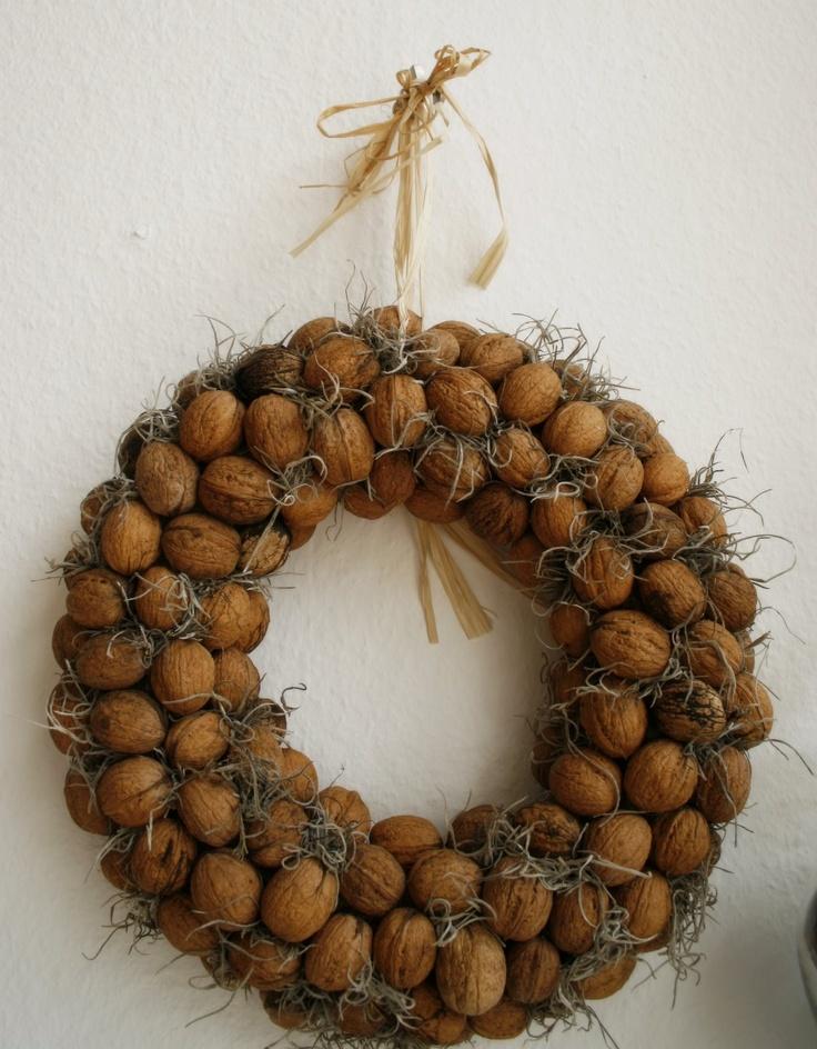 Walnut wreath