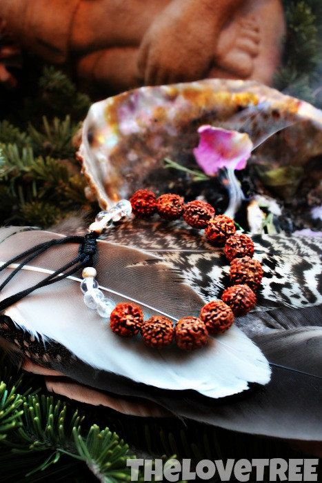 Bodhi Seed Bracelet for Enlightenment and Wisdom by ShopLoveTree