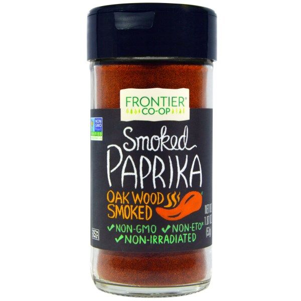 Frontier Natural Products, Smoked Paprika, Oak Wood Smoked, 1.87 oz (53 g)