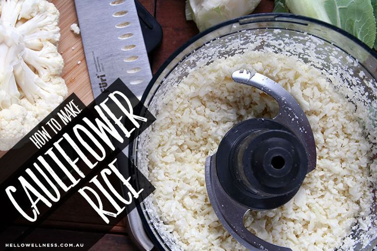 how to cook frozen cauliflower rice