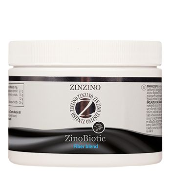 ZinoBiotic Zinobiotic´s main purpose is to balance the colon  (the large intestine) by feeding all the beneficial  bacteria so they can grow and thus constitute a  larger number than the less wanted bacteria.   This should be done by balancing all the beneficial  bacteria in the whole colon.   Many other products on the market contain only  one or two ingredients which only have an impact  on a small part of bacteria or in a limited part of the  colon.