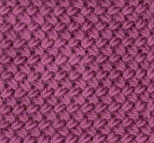 échantillon tricot tressé