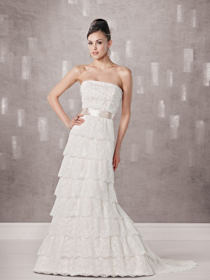 Unique Pink And White Wedding Dresses