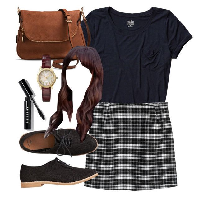 Spencer Hastings inspired outfit with a navy t-shirt by liarsstyle on Polyvore featuring Hollister Co., Gap, Target, Timex, Bobbi Brown Cosmetics, school, college, ss and museum